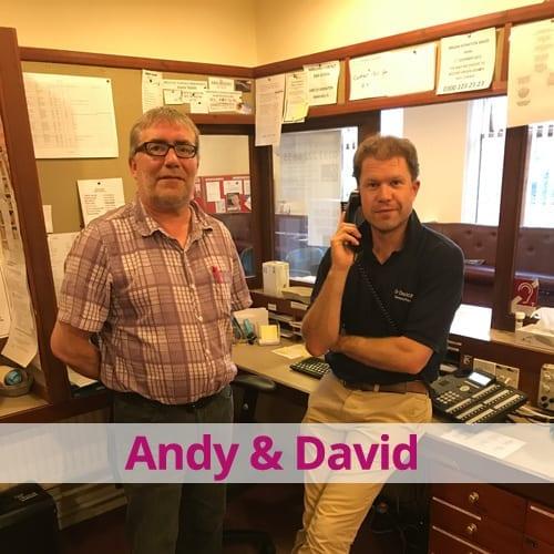Andy & David – GPs